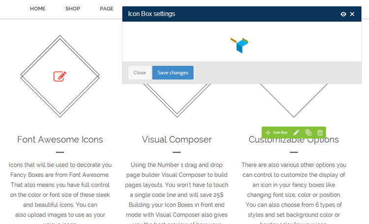 Build Montana Pages in Visual Composer Frontend Editor